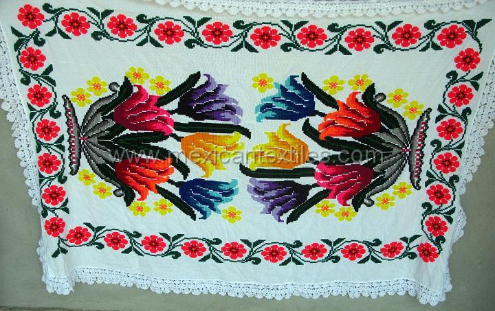 Embroidery San Antonio Huehuetla Hidalgomexico